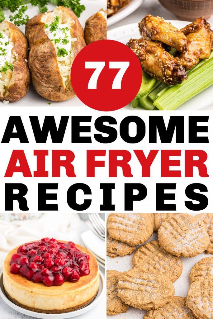 air fryer recipes ecookbook bundle