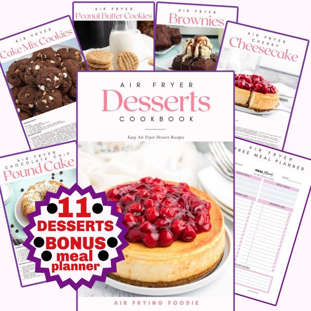 air fryer desserts ecookbook recipes