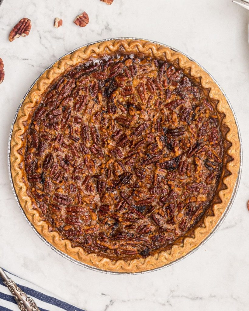 Close up pie photo